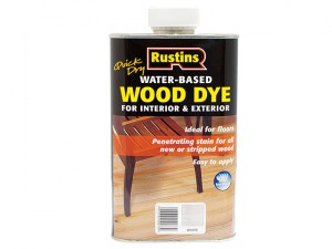 Quick Dry White Wood Dye 2.5 litre