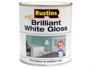 Quick Dry Brilliant White Gloss 250ml