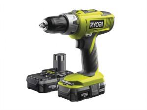 LLCDI18022 ONE+ 18V Combi Hammer Drill 18 Volt 2 x 1.3Ah Li-Ion