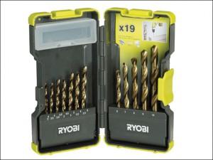 RAK-19HSS HSS Drill Bit Set of 19