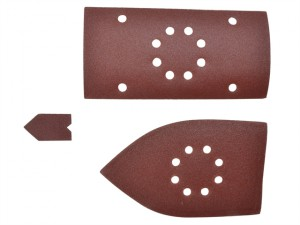 Palm Sander Sheets Assorted For EMS180RV (30)