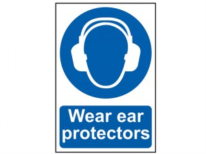 Wear Ear Protectors - PVC 200 x 300mm