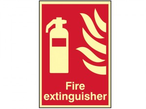 Fire Extinguisher Photoluminescent - 200 x 300mm