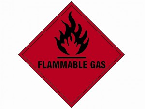 Flammable Gas SAV - 100 x 100mm