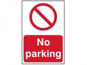 No Parking - PVC 400 x 600mm