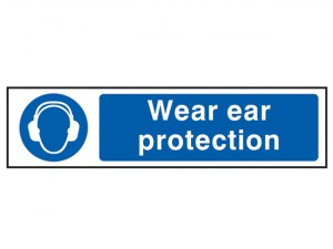 Wear Ear Protection - PVC 200 x 50mm
