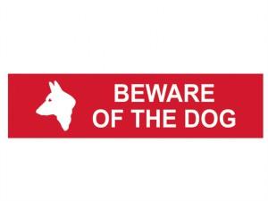 Beware Of The Dog - PVC 200 x 50mm