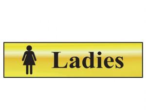 Ladies - Polished Brass Effect 200 x 50mm