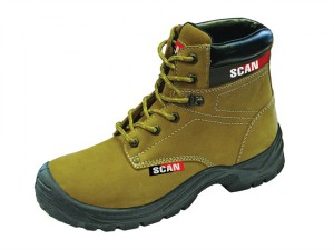 Cougar Nubuck Safety Boots UK 7 Euro 41