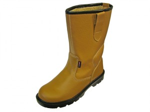 Texas Lined Tan Rigger Boots UK 10 Euro 44