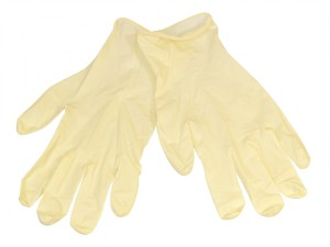 Latex Examination Gloves - Medium (Box 100)
