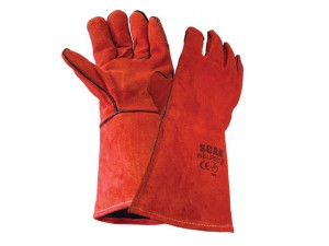Welders Gauntlet - Red