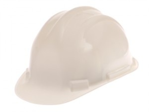 Deluxe Safety Helmet White
