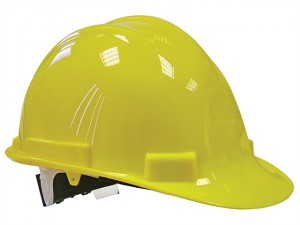 Deluxe Safety Helmet Yellow