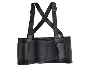 Back Support Belt with Braces 97-112cm - L (38 - 44in)