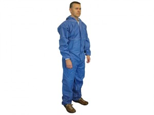 Disposable Overall Blue XL (42-45in)