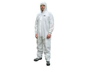 Chemical Splash Resistant Disposable Coverall White Type 5/6 XL (42-45in)