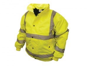 Hi-Vis Bomber Jacket Yellow - XL (48in)