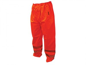 Hi-Vis Motorway Trouser Orange - XL (42-44in)