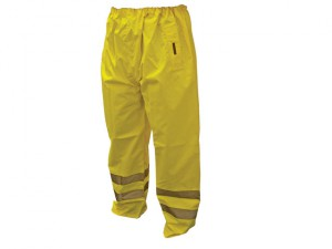 Hi-Vis Motorway Trouser Yellow - XXL (46-48in)