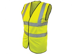 Hi-Vis Waistcoat Yellow- Child 10-13 (35in)