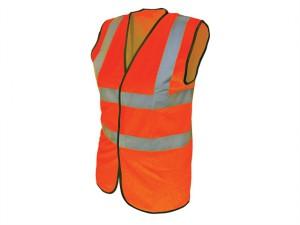 Hi-Vis Waistcoat Orange - XL (48in)