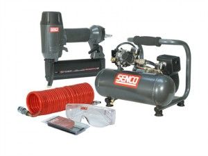 Finish Pro 18 Pneumatic Nailer & 1 HP Compressor Kit 110V
