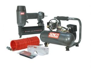 Finish Pro 18 Pneumatic Nailer & 1 HP Compressor Kit 240 Volt