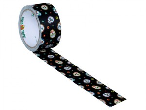 Duck Tape® 48mm x 9.1m Disco Skulls