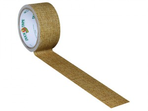Duck Tape® 48mm x 9.1m Natural Hessian