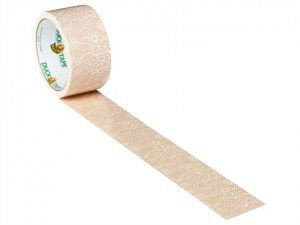 Duck Tape® 48mm x 9.1m Chantilly Lace