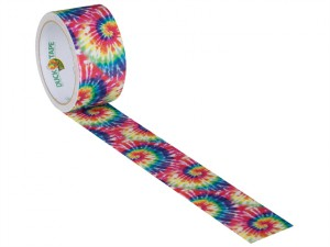 Duck Tape® 48mm x 9.1m Tie Dye Explosions