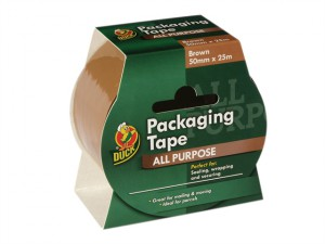 Duck Tape® Packaging 50mm x 25m Brown