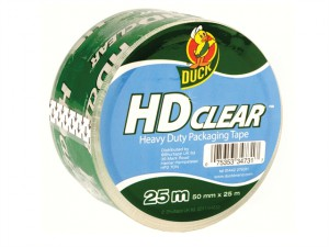 Duck Tape® Packaging Heavy-Duty 50mm x 25m Clear