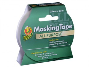Duck Tape® All Purpose Masking Tape 25mm x 25m