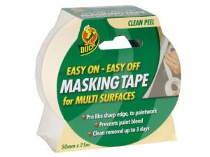 Duck Tape® Easy Off Masking Tape 50mm x 25m