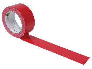 Duck Tape® 48mm x 9.1m Fire Engine