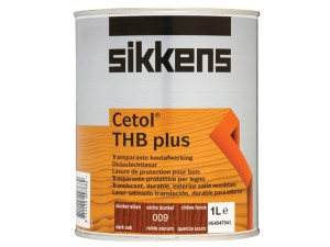 Cetol THB Plus Translucent Woodstain Dark Oak 1 Litre