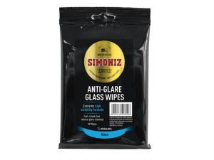 SWPS0011A Anti-Glare Glass Wipes Pack of 20