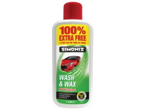 SAPP0801B Wash & Wax 500ml + 100% Extra Free