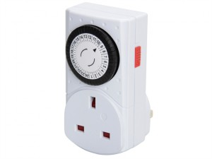 MCT1PC-SH 24 Hour Compact Mechanical Timer
