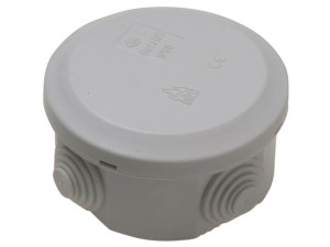 IP44 Junction Box 5T 100 x 100 x 55mm