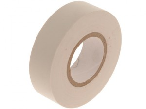 PVC Insulation Tape White 19mm x 20m