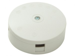 White 20A 4 Terminal Junction Box