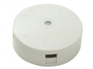 White 5A 4-Terminal Junction Box
