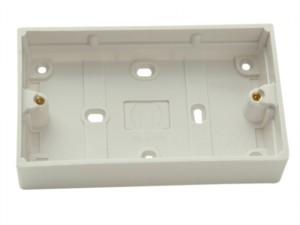 Surface Pattress Box 2 Gang 30mm Depth