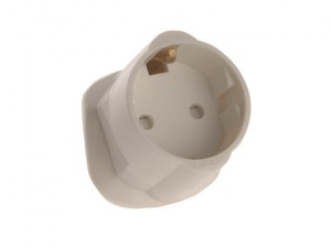 Shuko To UK Travel Adaptor (Clam)