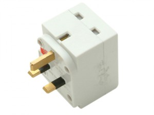 3 Way Fused Adaptor
