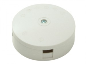 White 30A 3-Terminal Junction Box