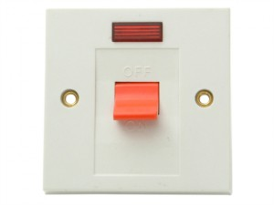 Flush DP Neon Switch 30A